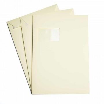 25 Versandtaschen  DIN C4 Gras Grün 120 g/m² - 229 x 324 mm 22,9 x 32,4 cm - selbstklebend mit Abziehstreifen - mit Fenster