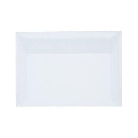 25 Briefumschläge C6 DIN (114-162 cm) - Weiß , Verschluss-Technik: Querlasche mit Abziehstreifen ! Grammatur: 90 g/m²
