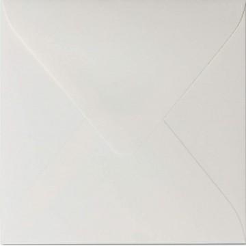 25 Briefumschläge 15 x 15 cm 150 x 150 mm Hell Grau Verschluss: feuchtklebend Grammatur: 120 g/m²