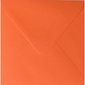 25 Briefumschläge 14 x 14 cm 140 x 140 mm Mandarine Verschluss: feuchtklebend Grammatur: 120 g/m²