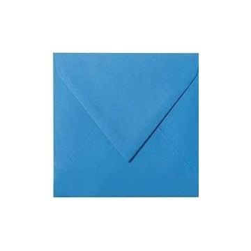 25 Briefumschläge 12,5 x 12,5 cm 125 x 125 mm Ozean Blau Verschluss: feuchtklebend Grammatur: 120 g/m²