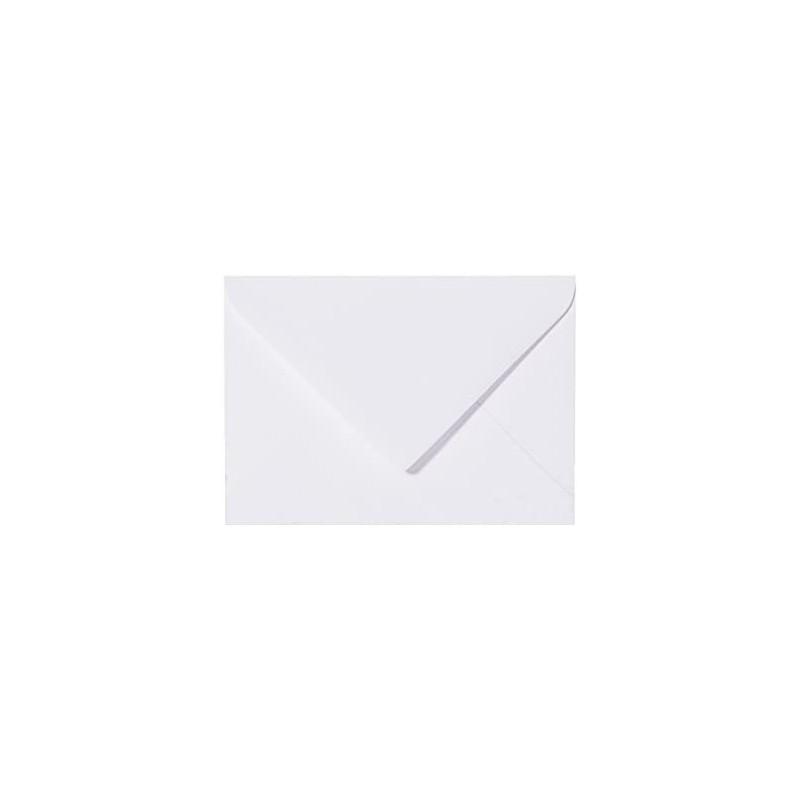 25 Briefumschläge Mini geeignet für Visitenkarten Weiß 6 x 9 cm Verschluss-Technik: feuchtklebend, Grammatur 120 g/m²