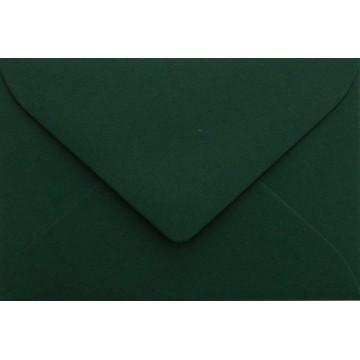 25 Briefumschläge Mini geeignet für Visitenkarten  6 x 9 cm Tannen Grün Verschluss-Technik: feuchtklebend, Grammatur 120 g/m²