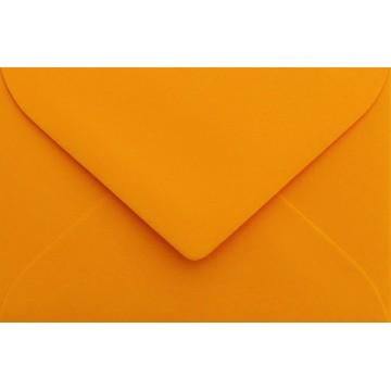 25 Briefumschläge Mini geeignet für Visitenkarten  6 x 9 cm Orange Verschluss-Technik: feuchtklebend, Grammatur 120 g/m²