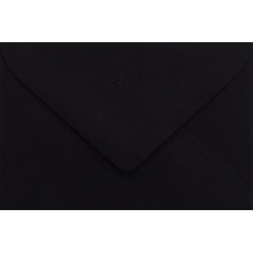 25 Briefumschläge Mini geeignet für Visitenkarten  6 x 9 cm Schwarz Verschluss-Technik: feuchtklebend, Grammatur 120 g/m²