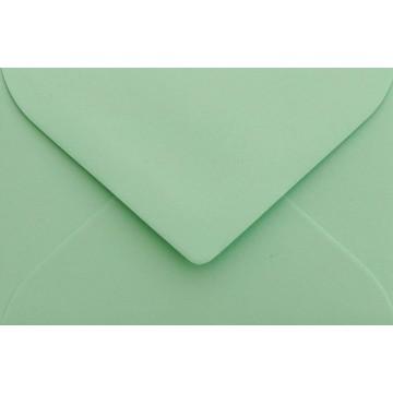 25 Briefumschläge Mini geeignet für Visitenkarten  6 x 9 cm Minze Verschluss-Technik: feuchtklebend, Grammatur 120 g/m²