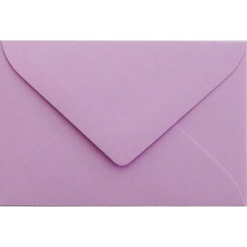 25 Briefumschläge Mini geeignet für Visitenkarten  6 x 9 cm Flieder Verschluss-Technik: feuchtklebend, Grammatur 120 g/m²