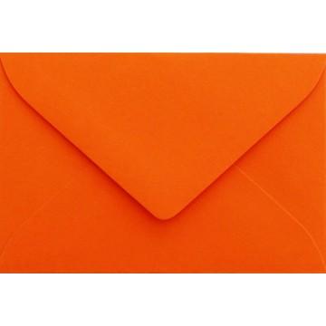 25 Briefumschläge Mini geeignet für Visitenkarten  6 x 9 cm Mandarine Verschluss-Technik: feuchtklebend, Grammatur 120 g/m²