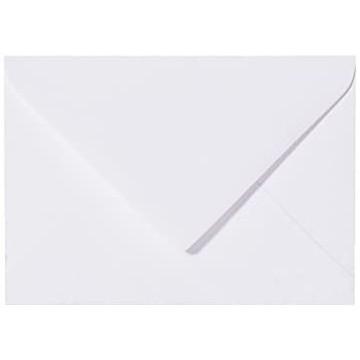 25 Mini Briefumschläge Weiß 5,2  x 7,1 cm Verschluss-Technik: feuchtklebend, Grammatur 120 g/m²