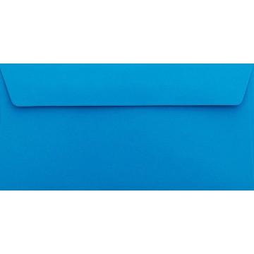25 DIN lang Briefumschläge Ozean Blau Kuvert 11 x 22 cm mit Haftstreifen, Grammatur 120 g/m²