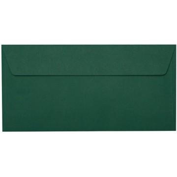 25 DIN lang Briefumschläge Tannen Grün Kuvert 11 x 22 cm mit Haftstreifen, Grammatur 120 g/m²