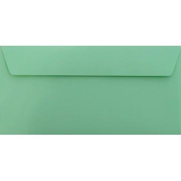 25 DIN lang Briefumschläge Minze Kuvert 11 x 22 cm mit Haftstreifen, Grammatur 120 g/m²
