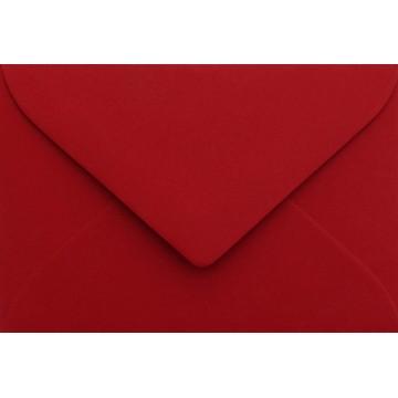 25 Briefumschläge B6 DIN (12,5 x 17,6 cm) Rosen Rot Verschluss: Feuchtklebend mit Dreieck Lasche  ! Grammatur: 120 g/m²