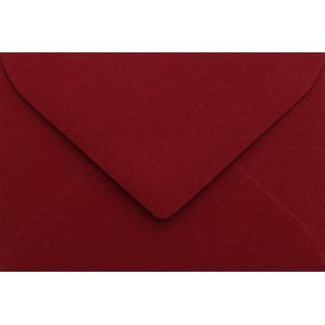 25 Briefumschläge B6 DIN (12,5 x 17,6 cm) Bordeaux Verschluss: Feuchtklebend mit Dreieck Lasche  ! Grammatur: 120 g/m²