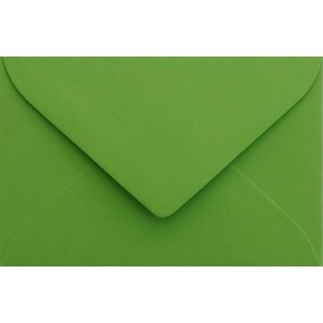 25 Briefumschläge B6 DIN (12,5 x 17,6 cm) Gras Grün Verschluss: Feuchtklebend mit Dreieck Lasche  ! Grammatur: 120 g/m²