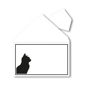 25 Briefumschläge B6 DIN (12,5 x 17,6 cm) Weiß Verschluss: Feuchtklebend mit Dreieck Lasche  ! Grammatur: 120 g/m²