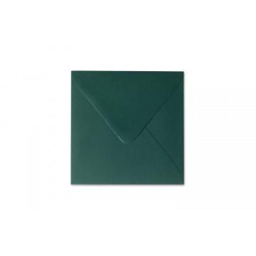 25 / Quadratisch/Briefumschläge / 17 x 17 cm / 170 x 170 mm/Tannen Grün/Verschluss: Kuverts feuchtklebend/Grammatur: 120 g/m²