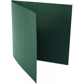 1-Quadratische Klappkarte zum selbst Beschriften in Tannen Grün  der Größe 160 x 160 mm 16 x 16 cm Grammatur: 300 g/m²
