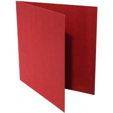 1-Quadratische Klappkarte zum selbst Beschriften in Bordeaux der Größe 145 x 145 mm 14,5 x 14,5 cm Grammatur: 300 g/m²