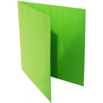 1-Quadratische Klappkarte zum selbst Beschriften in Gras Grün der Größe 140 x 140 mm 14 x 14 cm Grammatur: 300 g/m²