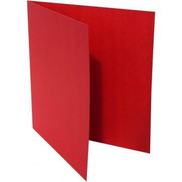 1-Quadratische Klappkarte zum selbst Beschriften in Rosen Rot der Größe 140 x 140 mm 14 x 14 cm Grammatur: 300 g/m²