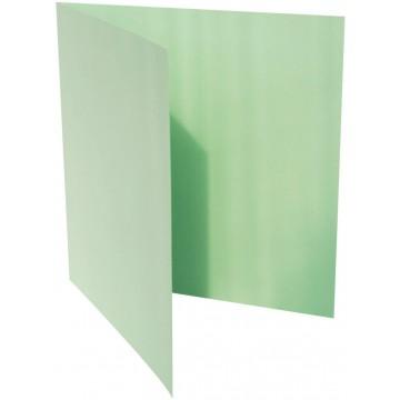 1-Quadratische Klappkarte zum selbst Beschriften inHell Grün der Größe 140 x 140 mm 14 x 14 cm Grammatur: 300 g/m²