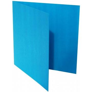 1-Quadratische Klappkarte zum selbst Beschriften in Gras Grün von der Größe 130 x 130 mm 13 x 13 cm Grammatur: 300 g/m²