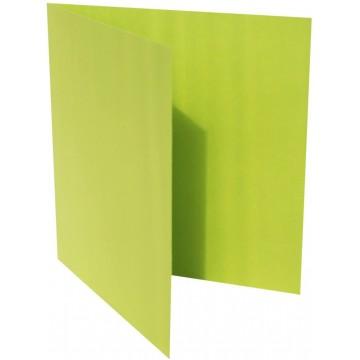 1-Quadratische Klappkarte zum selbst Beschriften in Tannen Grün von der Größe 130 x 130 mm 13 x 13 cm Grammatur: 300 g/m²