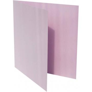 1-Quadratische Klappkarten zum selbst Beschriften in Hell Grün : von der Größe 100 x 100 mm 10 x 10 cm Grammabe:300 g/m²