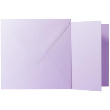1 Briefumschlag Hell Grün Größe 12,5 X 12,5 cm 120g + Klappkarte 300g Größe 12 X 12 cm,