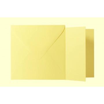 1 Briefumschlag Tannen Grün Größe 11 X 11 cm 120g + Klappkarte 300g Größe 10,5 X 10,5 cm,
