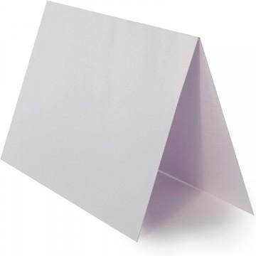 1 Briefumschlag Silber Metallic Größe 10 X 10 cm 120g + Klappkarte 300g Größe 9,5 X 9,5 cm,