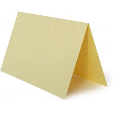 1 Tischkarte Tannen Grün zum selbst Beschriften - Grammatur: 300 g/m² 10 x 6 cm