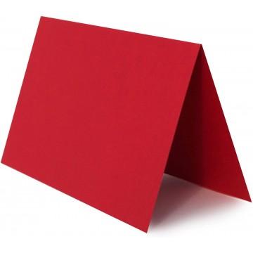 1 Tischkarte Hell Gelb zum selbst Beschriften - Grammatur: 300 g/m² 10 x 6 cm