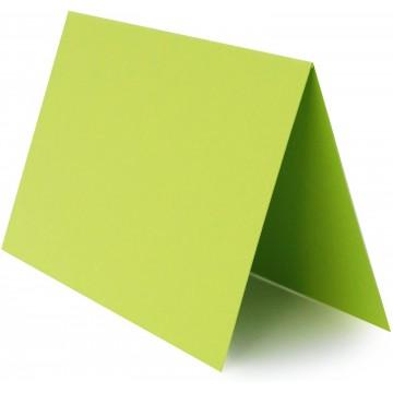 1 Tischkarte Schwarz zum selbst Beschriften - Grammatur: 300 g/m² 10 x 6 cm