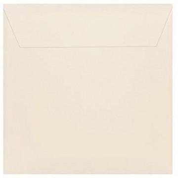 25 / Quadratisch/Briefumschläge / 17 x 17 cm / 170 x 170 mm/Zart Creme/Verschluss: Kuverts mit Haftstreifen/Grammatur: 120 g/m²