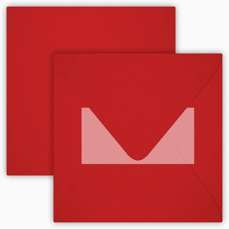 25 Neue Briefumschläge 15 x 15 cm 150 x 150 mm Rosen Rot Verschluss: mit Haftklebeverschluss Grammatur: 120 g/m²