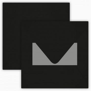 25 Neue Briefumschläge 15 x 15 cm 150 x 150 mm Schwarz Verschluss: mit Haftklebeverschluss Grammatur: 120 g/m²
