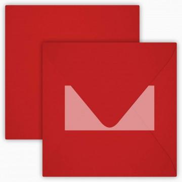 25 Neue Briefumschläge 15,5 x 15,5 cm 155 x 155 mm Rosen Rot Verschluss: mit Haftklebeverschluss Grammatur: 120 g/m²